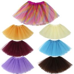 Red White Blue Tutus Australia - Summer Baby Girls Clothes Girls Skirt Toddler Kids Baby Girls Solid Tutu Skirt Baby Costume Dance Ballet Clothes A26