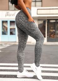 $enCountryForm.capitalKeyWord Australia - High Waist Elastic Yoga Pants Leggings Fitness Workout Running Sports Pants Trousers Casual Womens Long Leggings 2016