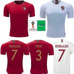 f211bbeefab 9 EDER Jerseys Thailand 8 J. MOUTINHO Portugal Soccer Jerseys 2018 World Cup  17 NANI 3 PEPE Customizable cheap football suit