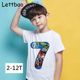 $enCountryForm.capitalKeyWord Australia - New Arrival Happy Birthday 2 To 12 Number Children's T-shirt Endgame The Hulk Iron Man Print T-shirt for Boy