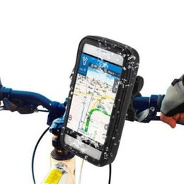Universal phone moUnt for bicycle online shopping - Handlebar Bike Bicycle Mount Holder with Waterproof Case Universal Case for Mobile Phone GPS B2Cshop