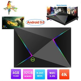 Pc Android Tv Media Player Australia - 1 PCS 2019 M9S Z8 Android 9.0 TV Box 4GB 32GB Wifi 2.4GHz Quad-core cortex-A53 HDMI 2.0 Smart TV Media Player Support 6K 3D H.265
