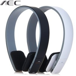 aec bluetooth Australia - Aec Bq618 Smart Wireless Bluetooth Stereo Headset Headphone With Mic Support 3.5mm Stereo Audio Handsfree For Phone Tablet Psps J190506