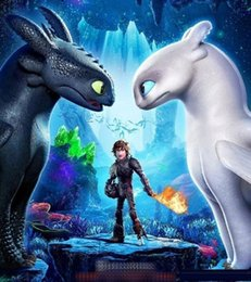 Train Dragon Stuff NZ - 25cm (9.84inch) How to Train Your Dragon 3 Plush Toy 2019 New movie Toothless Light Fury Soft White Dragon Stuffed Doll Christmas Gift D0104
