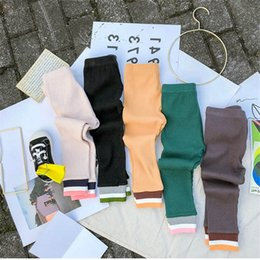 $enCountryForm.capitalKeyWord Australia - 5color girls leggings cotton kids leggings kids designer clothes girls trousers spring autumn kids pants leggings pants girls clothes A7120