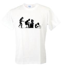 $enCountryForm.capitalKeyWord Australia - 2019 New Men's Tee Shirt Summer Short Sleeves Cotton Parody Nerd Origin District Art Banksy Man T-Shirt Hoodies