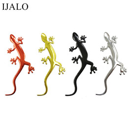 $enCountryForm.capitalKeyWord UK - Lizard Gecko Funny 3D car sticker soft PVC Chromed badge emblem sticker car decoration Automobile Decals Car-Styling accessory