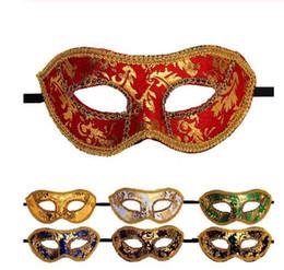 $enCountryForm.capitalKeyWord Australia - Halloween Mask Venetian Masquerade Halloween Masks Scary Mascara Halloween Female Wedding Party Mask Kamen party Dropshipping
