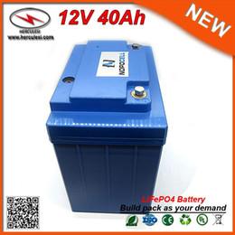 $enCountryForm.capitalKeyWord Australia - Portable 12V 40Ah Li-ion LiFePO4 Battery for Solar Power System EV HEV Car scooter UPS Street lamp and Bike FREE SHIPPING
