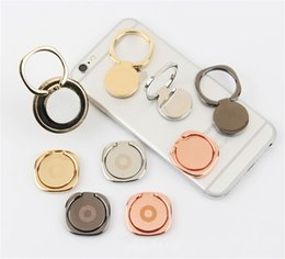 Discount cell phone holder pattern Universal 360 Degree Metal Round Pattern Finger Ring Holder Phone Holder Stand Mount For Samsung Cell Phones