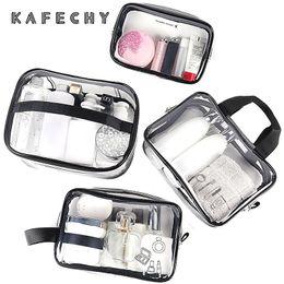 $enCountryForm.capitalKeyWord NZ - Fashion Designer Wash Bag Cosmetic Toiletry Bags for Women Clear TPU Waterproof Makeup Organizer Men Travel Storage Neceser