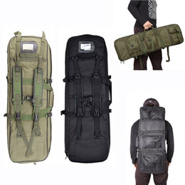TacTical rifle gun case online shopping - Hot Sale Army Military Molle Gun Bag Hunting Equipment Rifle Case Airsoft Sport Bag Nylon Shooting Tactical Shoulder Backpack