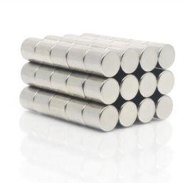$enCountryForm.capitalKeyWord Australia - free shipping Neodymium magnet 10x10mm Rare Earth small Strong Round permanent 10*10 mm Electromagnet NdFeB magnetic rod