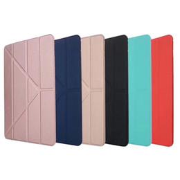 $enCountryForm.capitalKeyWord Australia - Smart cover for iPad Air 2 1 mini 2 3 4 new ipad 9.7 2017 2018 pro 10.5 11 Silicone soft tpu back full protective Case Auto Sleep wake shell