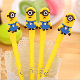 Stationery Australia - Korean Stationery Creative Lovely Cartoon Xiaohuang Grandpa Gift Style Neutral Pen Primary School Prize Wholesale