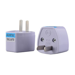Wholesale Portable Size Universal US Power Socket Plug Travel Wall AC Power Charger Outlet Adapter Converter Socket