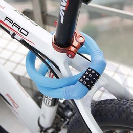 Strong Cables Australia - Strong Security Bike Lock Cable Password Steel Motorcycle Anti-saw MTB Road Locks 4 Color Cycling Bicycle Accessories Lock #257458