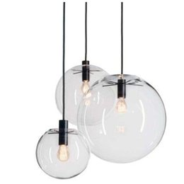 $enCountryForm.capitalKeyWord Australia - Rope Pendant Lights Globe Chrome Glass Ball Hanglamp Lustre Suspension Kitchen Lights Fixture Home Hanging Lights E27
