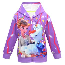 Wholesale 50s clothing for sale – plus size Baby Hoodie Snow2 coat Kids coat Sportswear Little girl Tracksuit Halloween Makeup Evening party Kids Jacket clothes in Stock s Free send