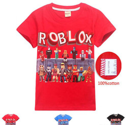 Girl Style Game Australia - 3 Style Boys Girls Roblox Stardust Ethical T-shirts 2019 New Children Cartoon Game cotton Short sleeve t shirt Baby kids clothing 2pcs