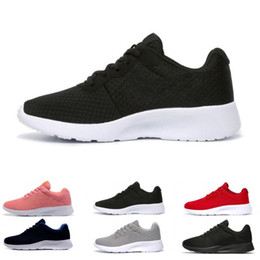 0c85fe49daf8 Hot sale tanjun men women running shoes London 3.0 1.0 Triple black white  blue red Olympic mens trainers sports shoes sneakers size US 5-11