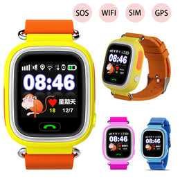 $enCountryForm.capitalKeyWord Australia - Kids GPS Smart Watch Q90 Smartwatch SOS SIM Card Relogio Children WiFi Watch 2G