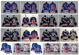 New wiNes online shopping - NHL NY New York Rangers Jersey Kakko Henrik Lundqvist Artemi Panarin Brady Skjei Mika Zibanejad Ryan McDonagh Messier Hockey