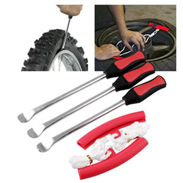 $enCountryForm.capitalKeyWord Australia - Tire Levers Spoon Set-Heavy Duty Motorcycle Bike Car Tire Irons Tool Kit,3 Pcs Changing Spoon + 2 Pcs Rim Protector