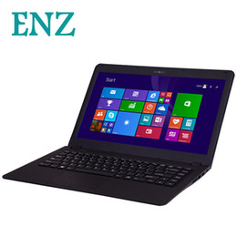 Laptop Windows Australia - ENZ B21 laptop 14.1inch 1920*1080 window 7 window 8 Intel Celeron N2840 Dual core computer RAM 2GB ROM 128GB SSD Camera notebook