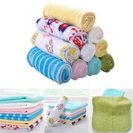 $enCountryForm.capitalKeyWord Australia - Fashion Baby Soft Smooth Square Shape Cute Print Handkerchief Mini Towel New Fashion Smooth Handkerchief