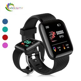 $enCountryForm.capitalKeyWord Australia - New 116 Plus Smart watch Bracelets Fitness Tracker Heart Rate Step Counter Activity Monitor Band Wristband IP67 Waterproof with retail pack