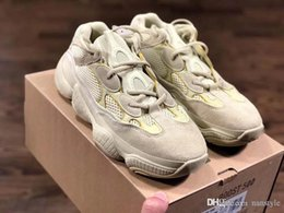 Boost 12 online shopping - Boost Desert Rat New Arrival Kanye West Runner Sneakers Running shoes Athletic Sneaker Outdoor boots size