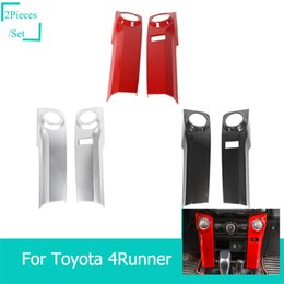 ToyoTa conTrol online shopping - Car Air Conditioning Control Decoration Automotive Interior Stickers For Toyota Runner Car Styling Car Interior Accessories
