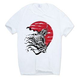 2ed39f85 Asian Size 2019 Brand Men Women Print Japan Samurai Warrior T-shirt Anime  Geek Summer Short Sleeve O-neck Harajuku Tshirt Hcp366