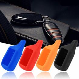 $enCountryForm.capitalKeyWord Australia - Silicone Car Key Case for B91 B61 A91 A61 KGB LCD Vehicle Security Accessories Car Alarm Keychain Remote Controller Car Key Case