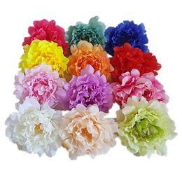 $enCountryForm.capitalKeyWord UK - 13cm Artificial Flowers Silk Peony Heads Simulation Fake Flower Head Party Wedding Flower Wall Decoration Supplies
