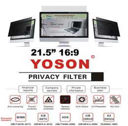"More Anti Australia - 21.5"" Privacy Filter Anti Peep Film Screen Protectors for Widescreen Desktop Monitors 16:9 Ratio"