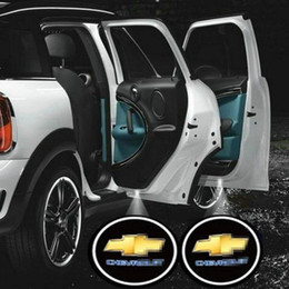 Wholesale Car LED Door Lights for Chevrolet Ghost Shadow Projector Logo Light (2PCS)