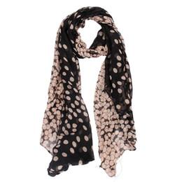 $enCountryForm.capitalKeyWord Australia - New chiffon scarf Womens Long Polka Dot Scarf Wraps Shawl Stole Soft shawls and scarves high quality foulard femme gift #48