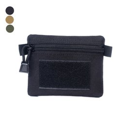 nylon tactical wallet Canada - Multifunctional Portable Coin Purse bag Outdoor Commuter Tactical Coin Wallet Key Card Case Hunting bag
