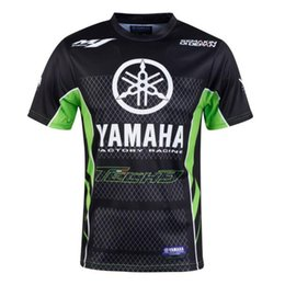 t race moto gp NZ - Motorcycle Racing Motorbike motocross Moto GP T shirt for Yamaha M1 Riding men short sleeve Breathable casual Clothes Clothing