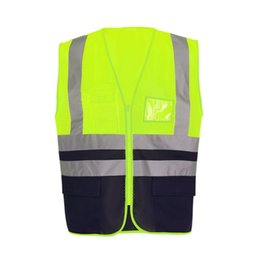 Security & Protection Pvc Reflective Tape Safety Reflective Vest Highways Sanitation Reflective Mesh Vests Workplace Safety Supplies