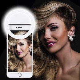 Selfie Luz de anillo con 36 bombillas LED Lámpara de flash Clip Luces de anillo Luz de relleno Portátil para teléfono Tableta iPad Computadora portátil Cámara Maquillaje