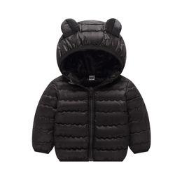 8e6db11a95909 toddler baby girl jackets 2019 autumn winter jackets for girls coat kids  warm cartoon outerwear coats for girls children clothes