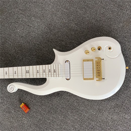 Free Shipping Series PRINCE White Cloud Guitar - Hand Made w  case on Sale