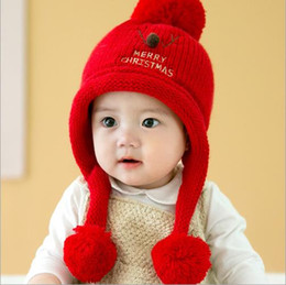 baby pullover NZ - 2019 Winter baby Pullover cap christmas baby deer Plush cap