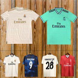 0b3b4dd31 New 2019 Real Madrid Heimtrikot 19 20 Real Madrid entfernt blau Trikot 2018  MODRIC ASENSIO VINICIUS JR ISCO KROOS Fußballuniform