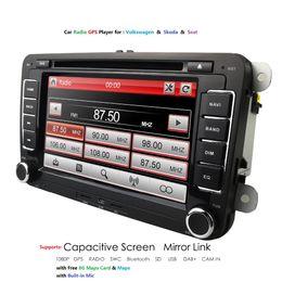 "$enCountryForm.capitalKeyWord Australia - 7"" 2 din Car DVD GPS radio stereo player for Volkswagen VW golf 6 passat b6 B7 Touran polo Tiguan seat leon skoda octavia 8g map"