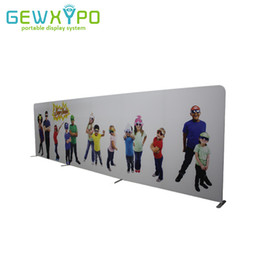 $enCountryForm.capitalKeyWord Australia - Trade Show Booth Premium 23ft*8ft Straight Tension Fabric Banner Display Stand With Printing,Quick Set Up Advertising Event Wall