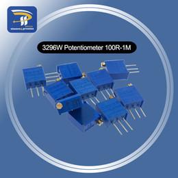 $enCountryForm.capitalKeyWord Australia - 10PCS 3296 potentiometer Kit High Precision 3296W Variable Resistor 100R -1M 200R 500R 1k 2k 5K 10K 20K 50K 100K 200k 500k